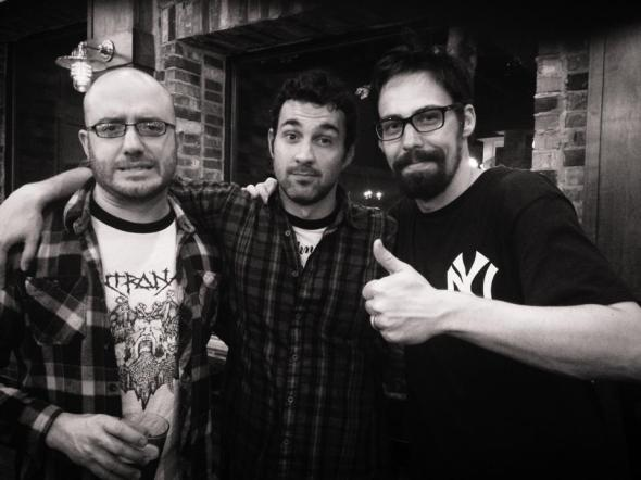 Mike Gifalfi, Mark Normand & Jimmy LeChase at the Comedy Club